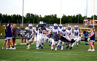 Olen C. Kelley III's coverage from the Corinth Holder Pirates and Clayton Comets football game