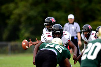 Coverage of the Enloe Eaggles vs Rolesville Rams football game