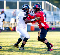 Olen C. Kelley III's coverage of the Knightdale Knighta and Rolesville Rams football game