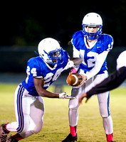Olen C. Kelley III's coverage of the JV Clayton Comets and Knightdale Knights