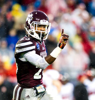 Olen C. Kelley's coverage of the Belk Bowl 2015 feat Mississippi State and NC State