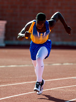 Olen C. Kelley III's coverage of the Districts 25,26,27,28-6A area Track meet