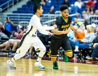 OK3Sports coverage of the Conference 3A Semifinal 2017 UIL Boys Basketball State Tournament featuring The Madison Trojans vs The Santa Rosa Warriors