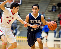 High School Basketball: OK3Sports coverage of the boys basketball game featuring the Central Catholic Buttons and the Antonian Prep Apaches