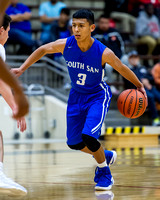 OK3Sports coverage of the SAISD Varsity Boys basketball tournament featuring The South San Antonio vs Cornerstone