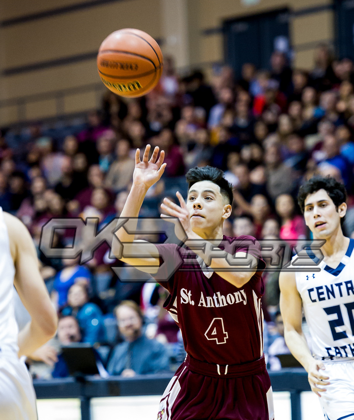 Olen C. Kelley III's coverage of the St. Anthony feat. Central Catholic boys basketball