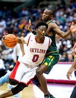 OK3Sports coverage of the Conference 6A State Semifinal 2017 UIL Boys Basketball State Tournament game featuring The Cypress Falls vs The Skyline Raiders