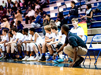 Olen C. Kelley III's coverage of the Clayton Comets and Smithfield Selma (SSS) boys basketball team