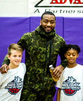 OK3Sports coverage of the John Wall Family  Foundation 45th Holiday Invitational basketball tournament featuring The Broughton Capitals vs Southern Durham Spartans